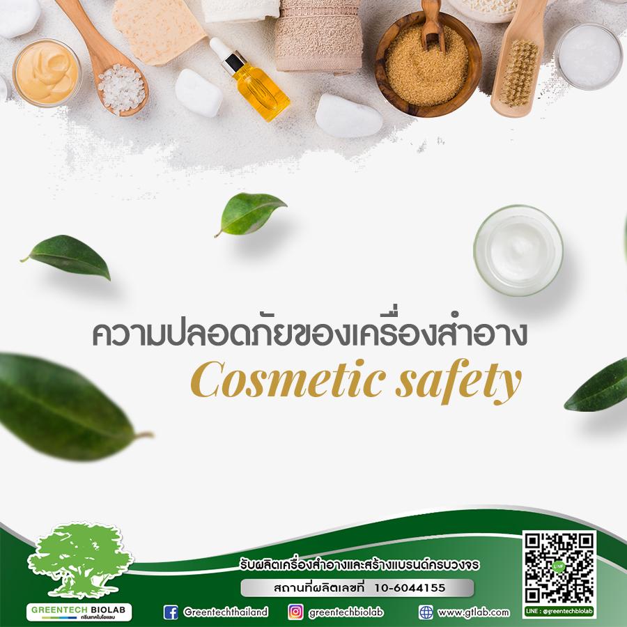 ความปลอดภัยของเครื่องสำอาง (Cosmetic Safety)